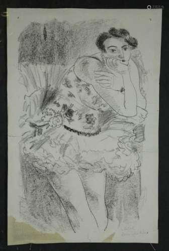 Matisse. Dix Danseuse [Danseuse Debout]. 1st state