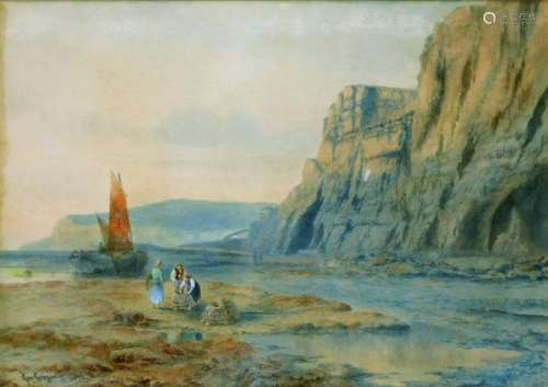 George Gregory English Seascape Painting