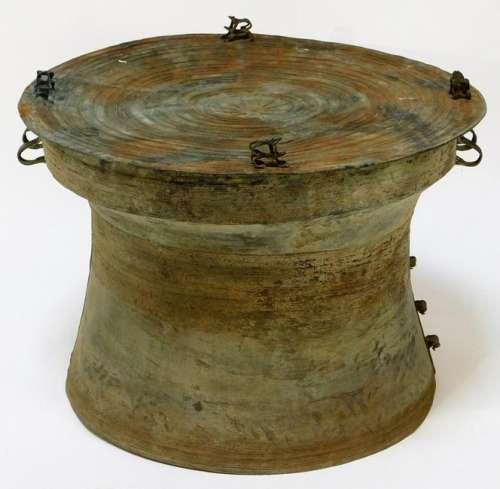 Burmese Bronze Heger Type III Rain Drum