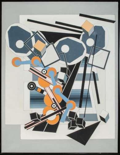 Alain Le YAOUANC (1940), Composition géométrique, …