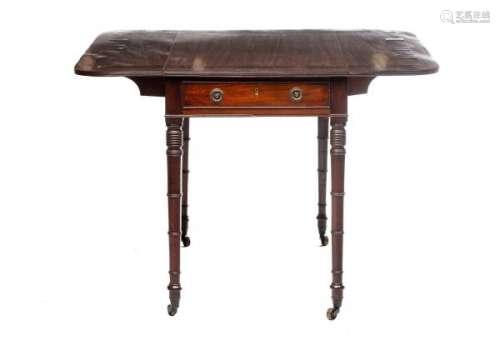 Table à oreilles en acajou dite pembroke table - Table à oreilles en acajou dite [...]