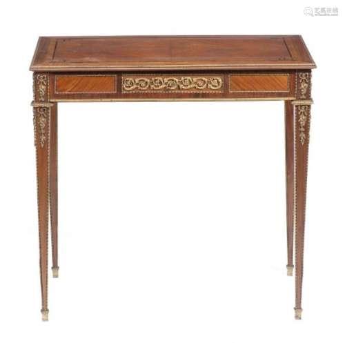 Table volante de style Louis XVI - Table volante de style Louis XVI placage de [...]