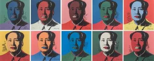 Andy Warhol (1928-1987) d'après, 10