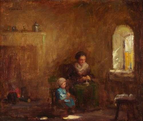 Jean Antoine Armand VERGEAUD (1876 1949). Scène d'…