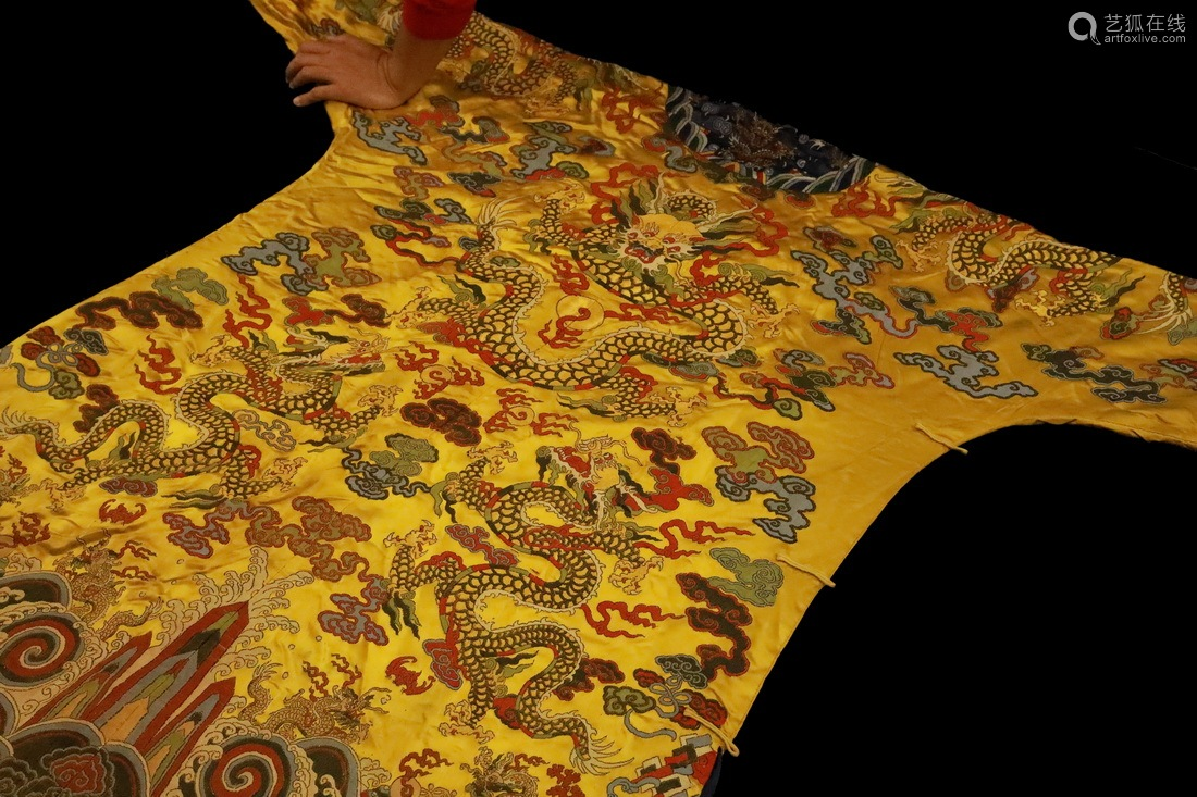 A Chinese Embroidery Robe
