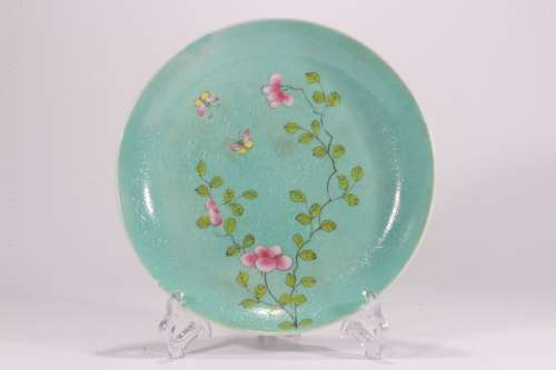 A Chinese Famille-Rose Porcelain Dish