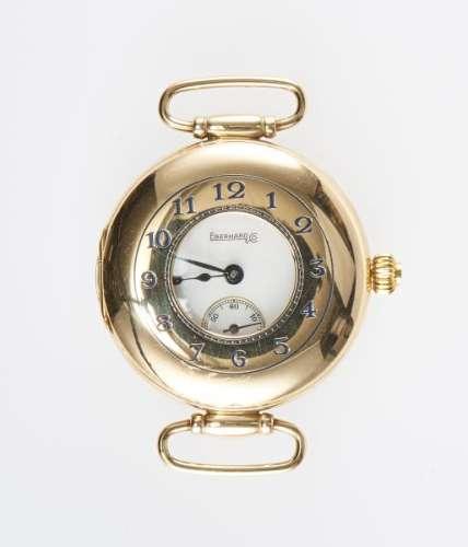 Eberhard, montre sans bracelet ronde mécanique - Cadran crème, aiguilles et [...]