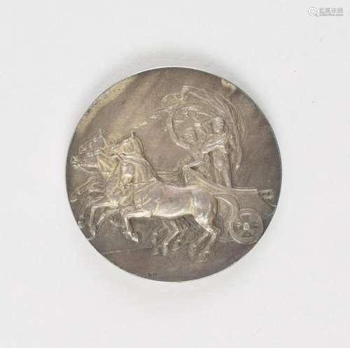 London 1908 Summer Olympics Silvered Bronze