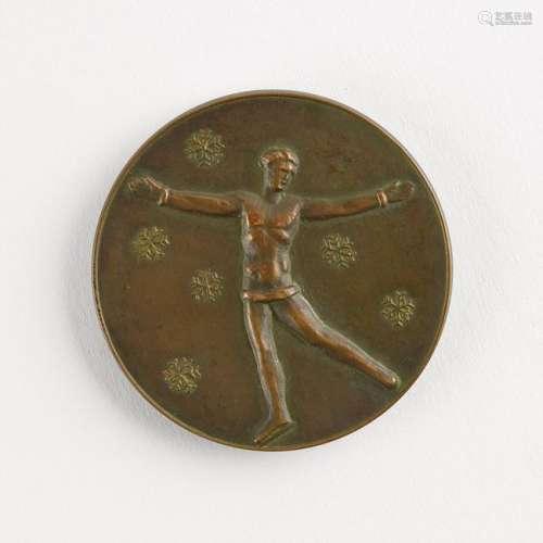 St. Moritz 1928 Winter Olympics Bronze Winner's Medal