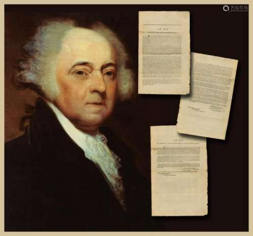 Declaration Signer John Adams Approves Two Acts of
