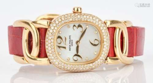 Ladies 18K Patek Philippe Watch, Ellipse d