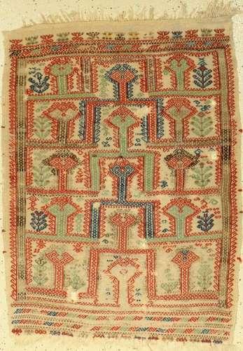 Zili 'prayer rug' antique, Anatolia, flat weave, 19th