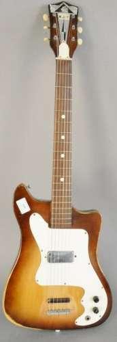 Vintage Kay Vanguard electric guitar, six string,