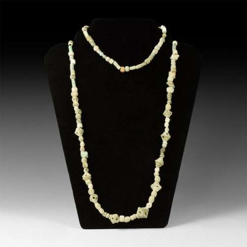 Egyptian and Other Bead Necklace