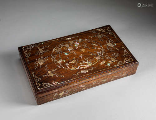 Republic Period Chinese Antique Wood Box
