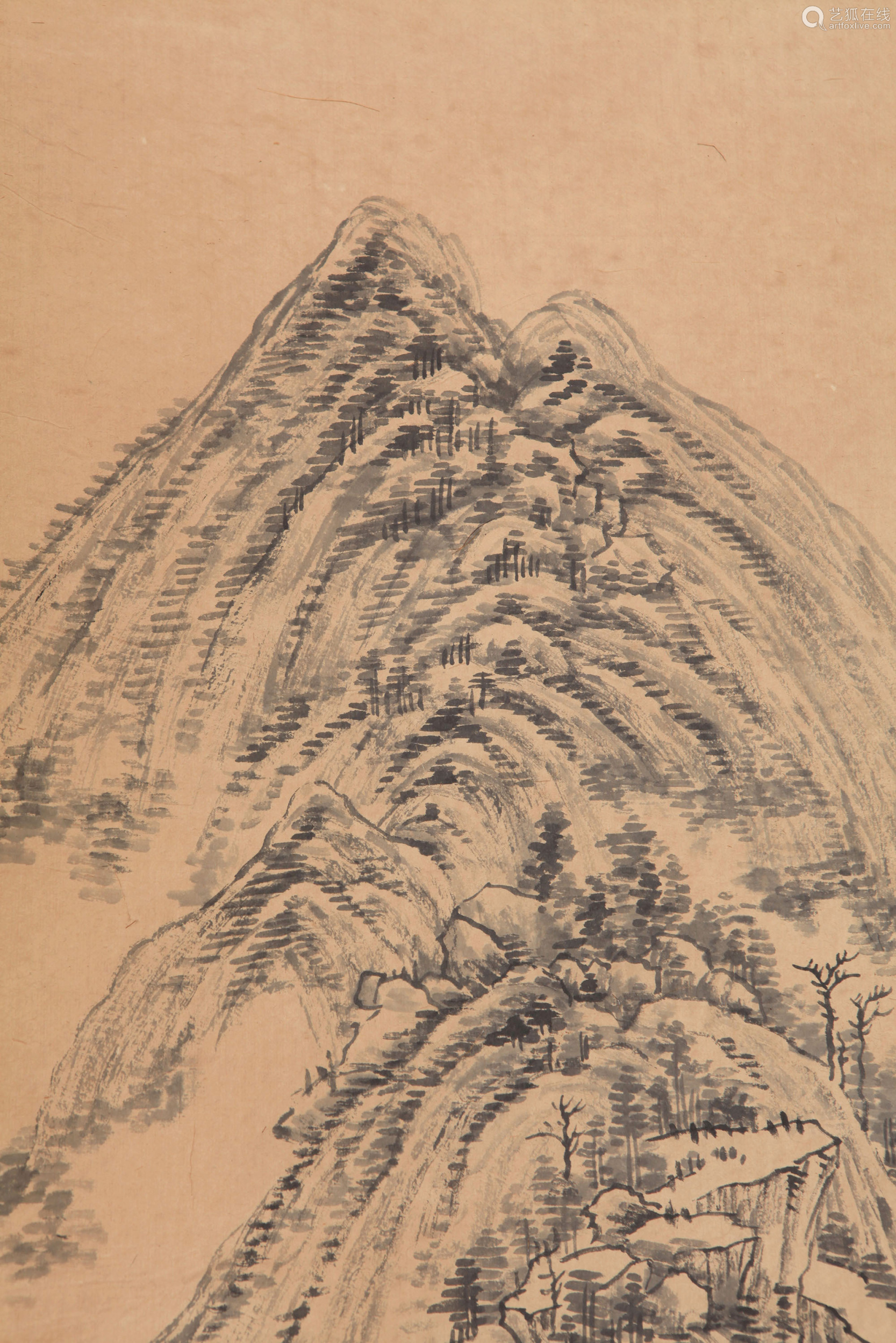 Zhang Zongcang - Mountain Scenery Shan Shui Painting