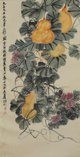 Wu Changshuo - Gourd Painting