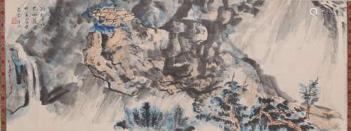 Jao Tsung-I - Mountain Scenery Shan Shui Painting