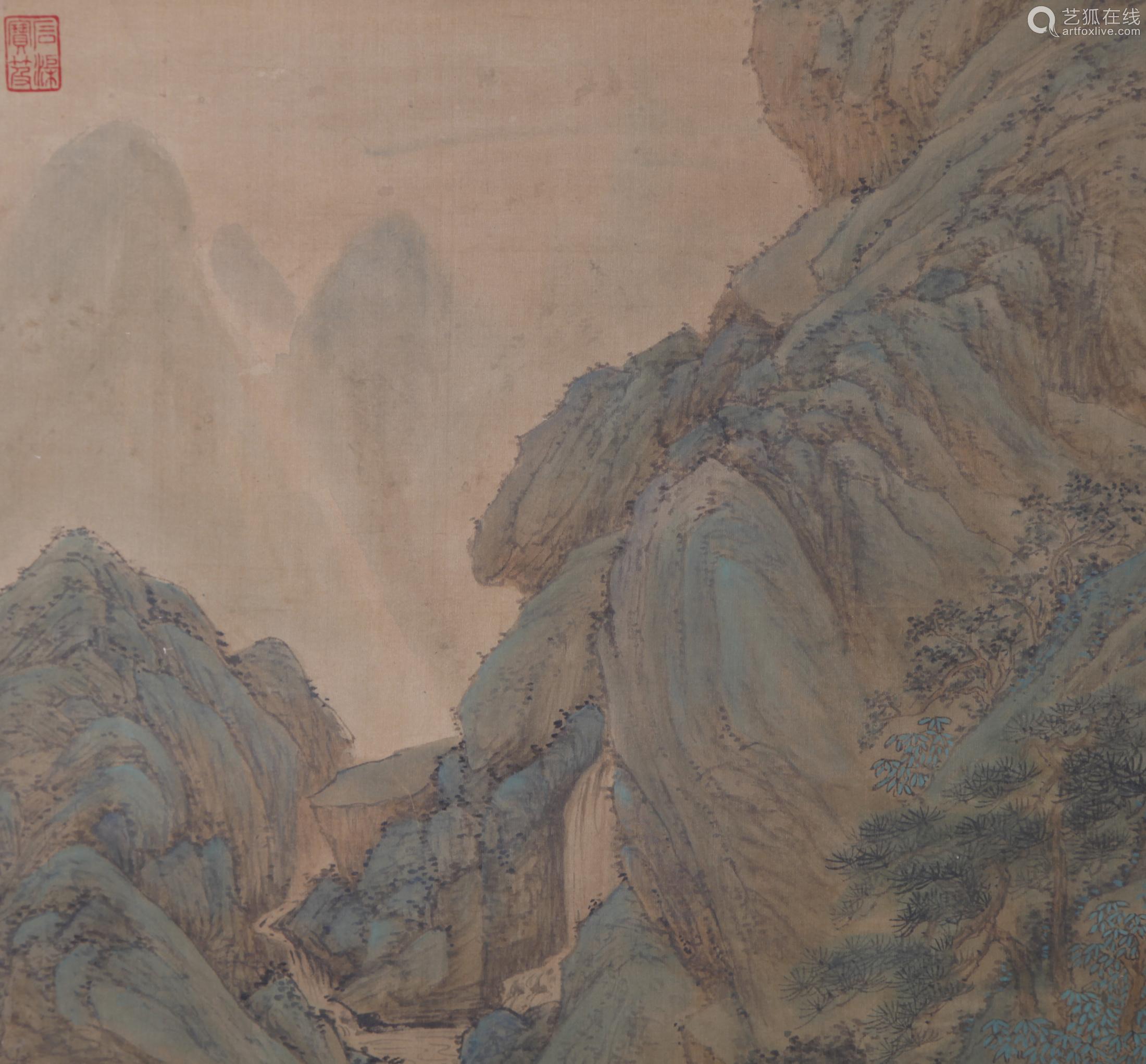 Qiu Ying - Mountain Scenery Shan Shui Painting