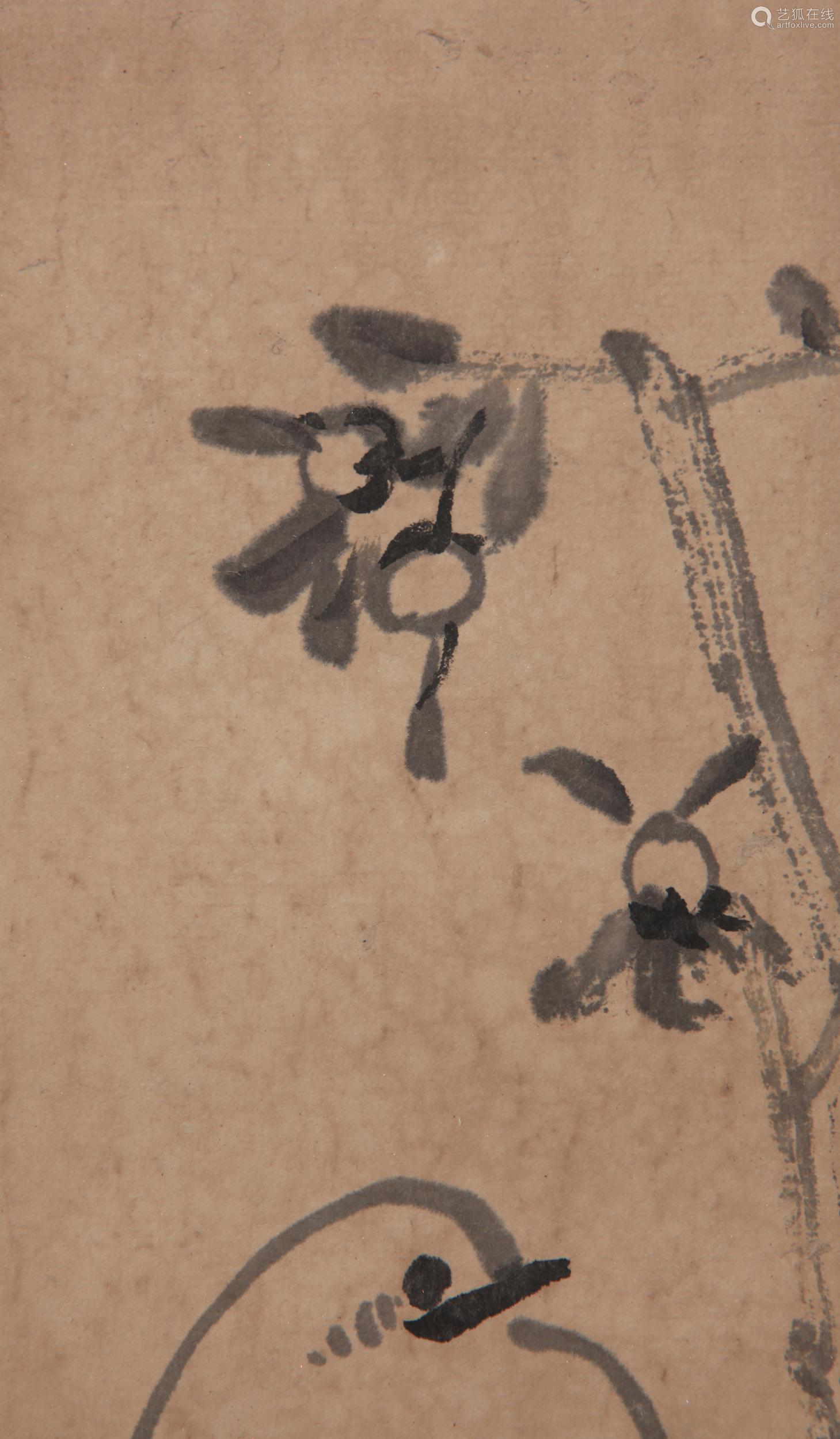 Bada Shanren - Painting of Flower and Bird