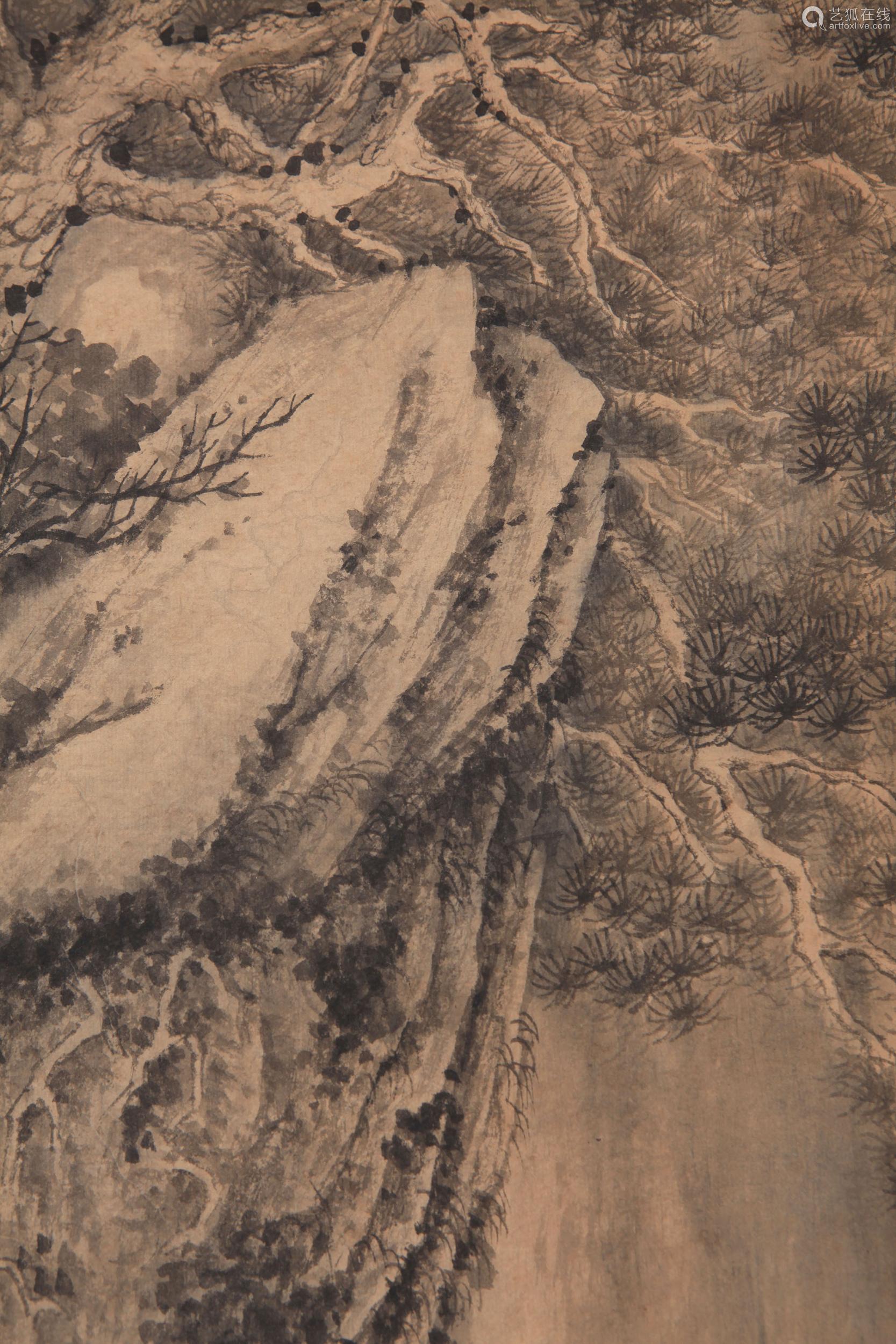 Shitao - Mountain Scenery Shan Shui Painting