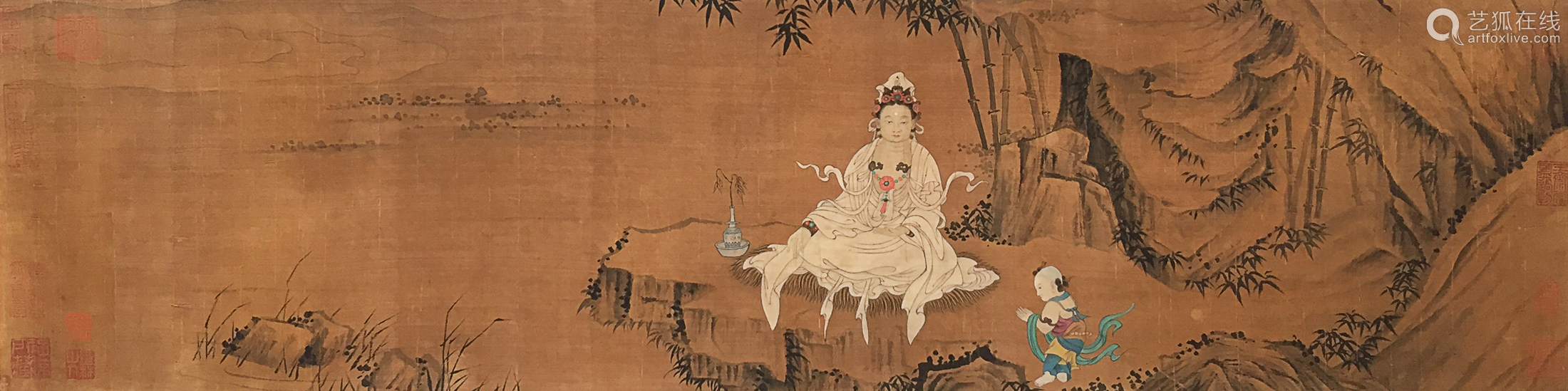 Anonymous - Painting of Avalokitesvara Buddha