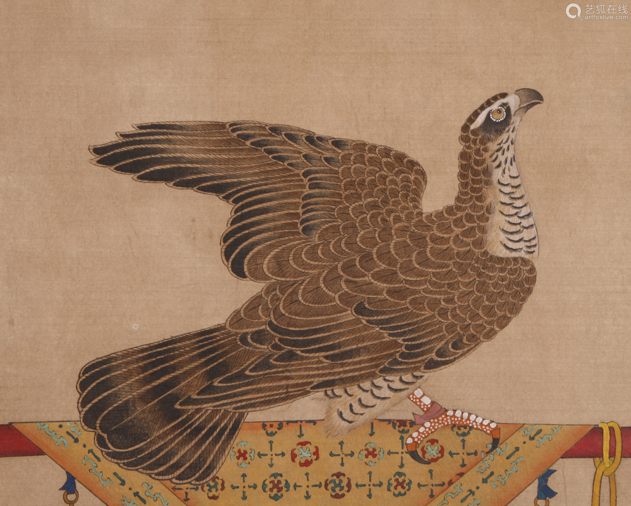Emperor Huizong of Song - Painting of Imperial Eagle