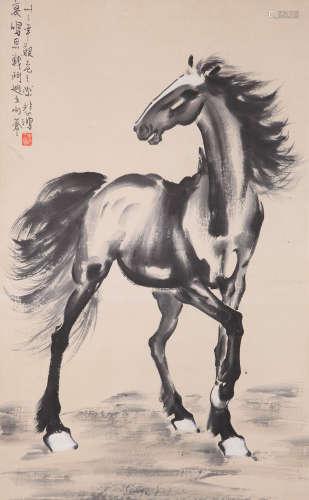 Xu Beihong - Horse Painting