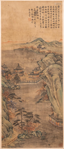 Chinese school, after Qiu Ying (c.1494-1551/52), ink
