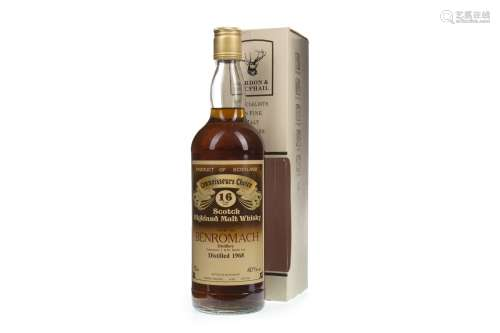 BENROMACH 1968 CONNOISSEURS CHOICE 16 YEARS OLD