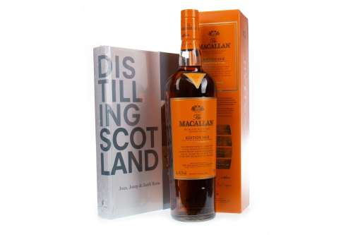 MACALLAN EDITION NO. 2 WITH TOTE BAG AND BOOK