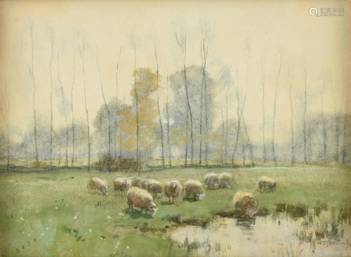 WILLEM STEELINK I (Dutch 1826-1913) A PAINTIN…