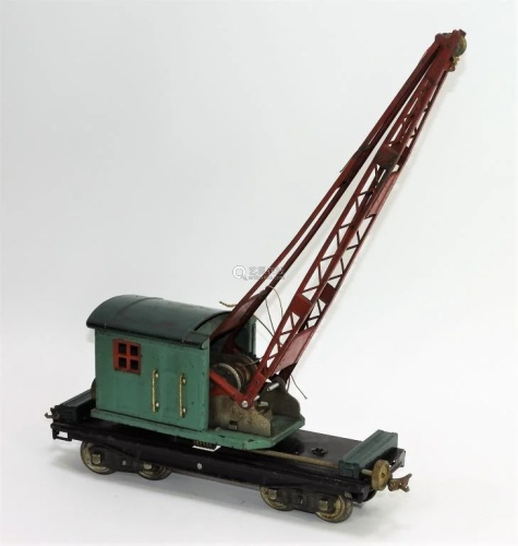 Antique Lionel No. 219 Train Locomotive Crane Car