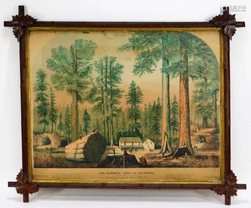 Times Steam Job Mammoth Trees of California …