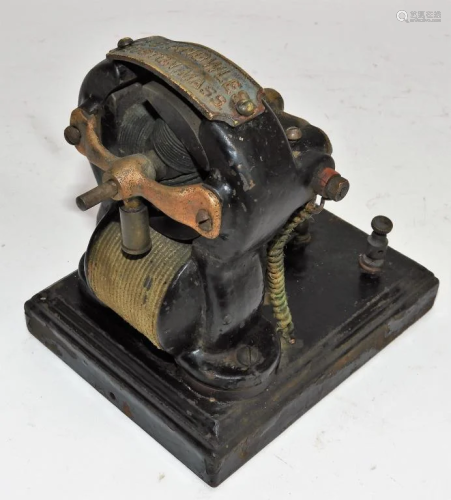 Antique C. S. Knowles Electric Powered Motor