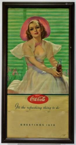Bradshaw Crandell Coca Cola Advertising Calendar