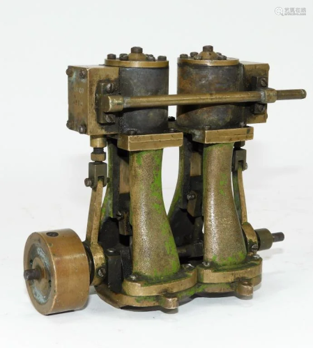 B.M. Co. No. 69 Steam Powered Model Engine