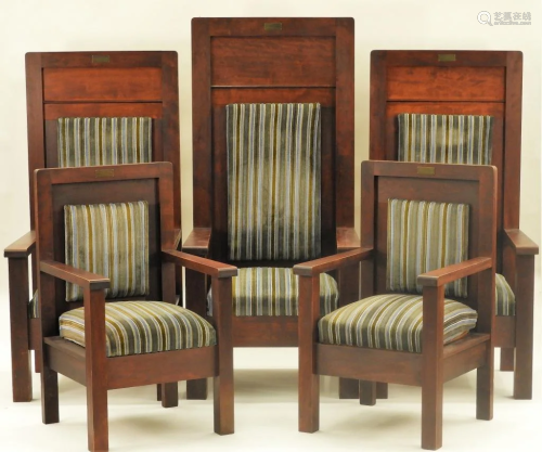Henderson-Ames Co. Masonic Shriner's Temple Chairs