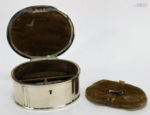 The McChesney Co. Sterling Silver Jewelry Casket
