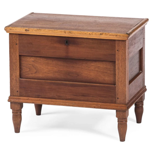 A Federal Cherrywood Sugar Chest