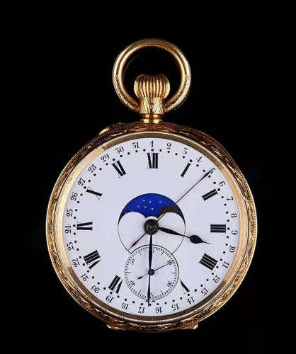 19th Century 18K Gold Pocket Watch