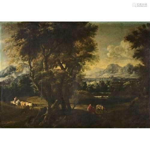 École GÉNOISE vers 1700, suiveur de Bartolomeo TOR…