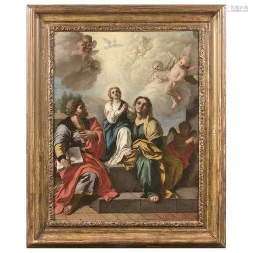 Francesco de MURA (Naples, 1696 1782) La Sainte Fa…
