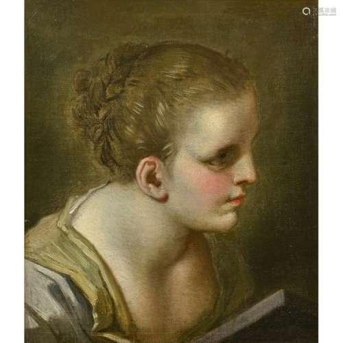 Benedetto LUTI (Florence, 1666 Rome, 1724) Tête de…