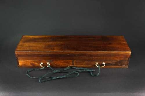 花梨木木制算盘套盒