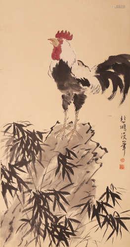 Xu Beihong - Chicken Painting
