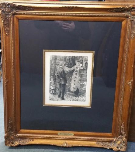 Renoir The Swing Balancoire Heliogravure with …