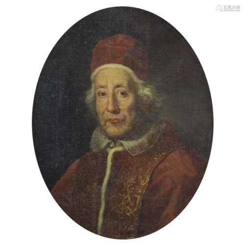 Attributed to Pietro Nelli(1672 1730 )Portrait of …