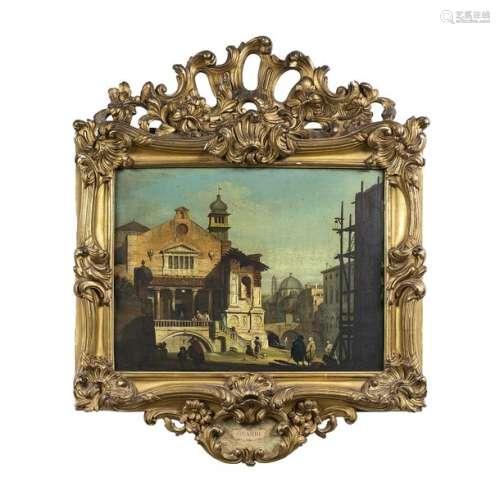 Giovanni MIGLIARA (1785 1837)Venetian CapricePanel…