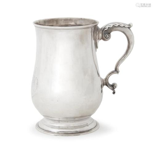 Silver cann, Abraham Dubois (1738-1807), Philadelp…